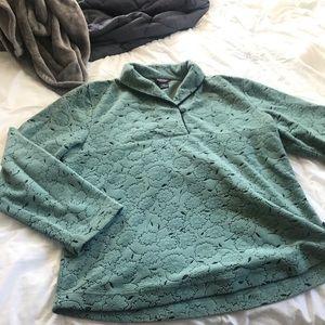 Vintage Woolrich sunflower pattern sweatshirt